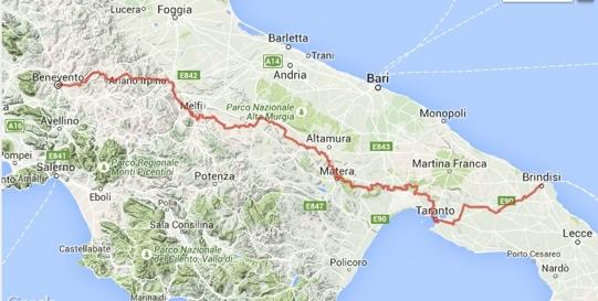 Mappa_ Itinerario_Bicistaffetta2015_FIAB