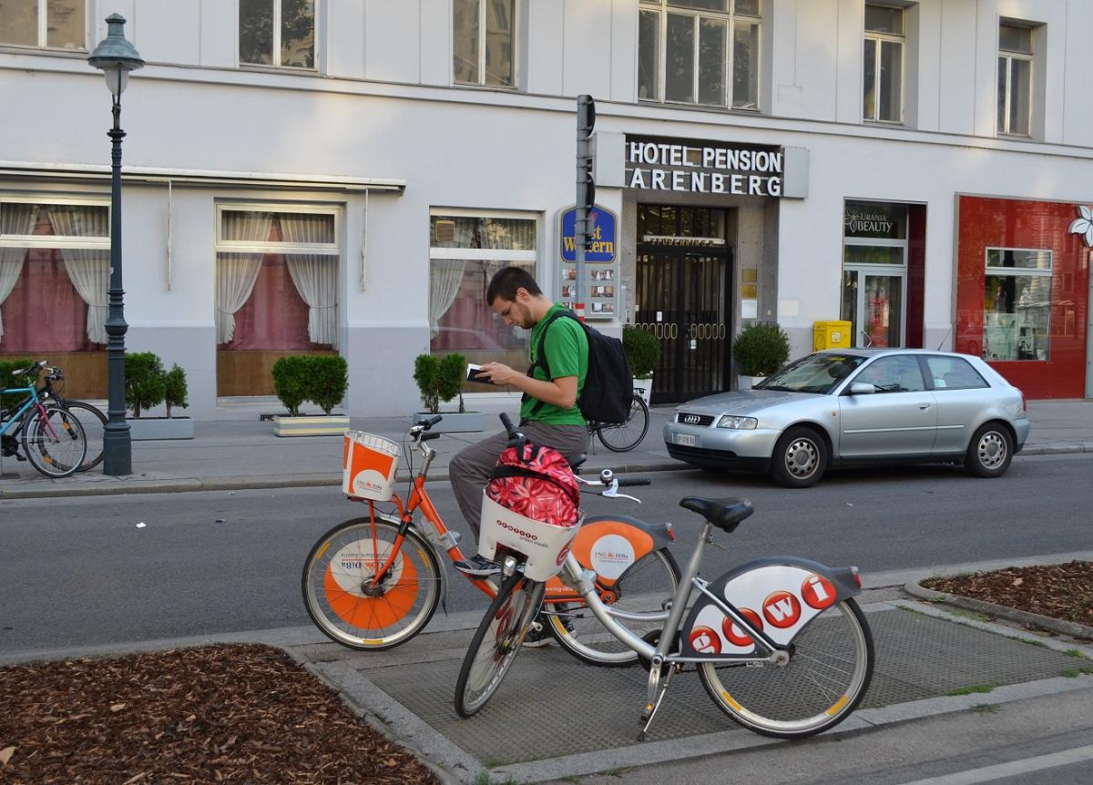 visitare Vienna in bici
