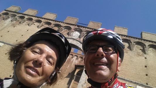 arrivo a Siena