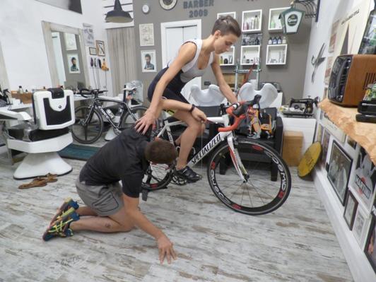 Dolori cervicali dovuti ad un'errata posizione in bicicletta