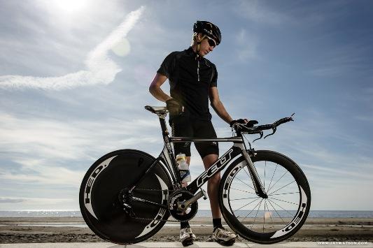 Tommy Zaferes, triathlete