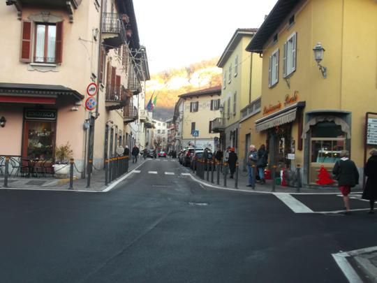 L'ingresso a Canzo