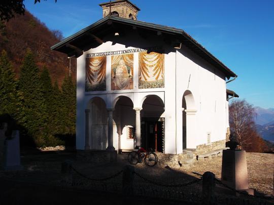 Il santuario della Madonna del Ghisallo