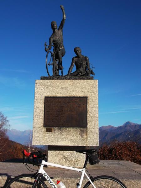Il monumento al ciclista