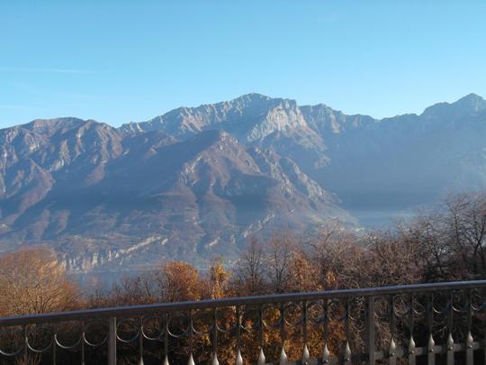 La balconata sulla Prealpi Lombarde