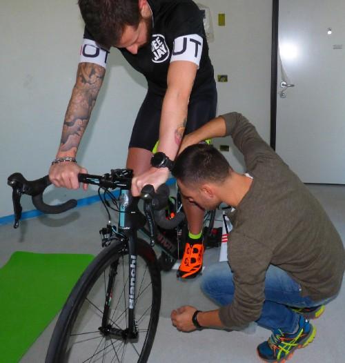 Setup per bici da corsa e mtb