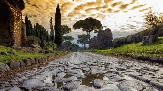 Passeggiata al Tramonto lungo il IV Miglio dell'Appia Antica
