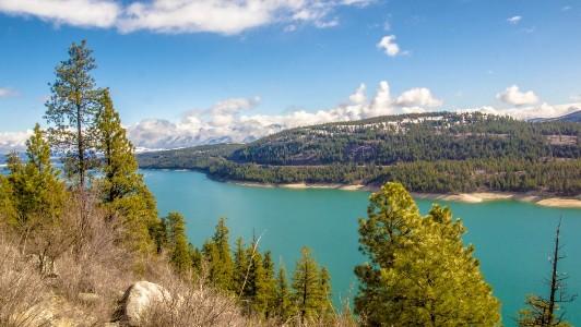 Lake Koocanusa | fonte: nomadsontheroad.com