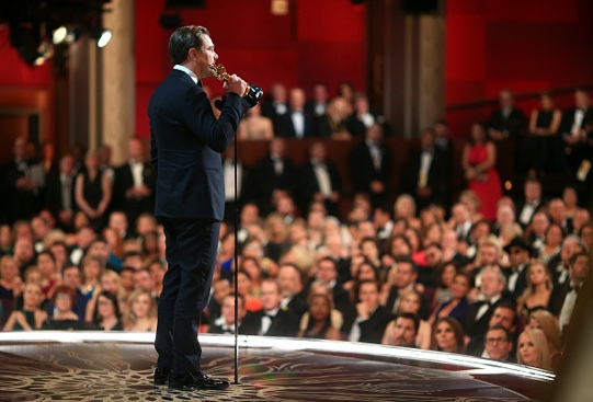 Leonardo Di Caprio, Oscar come miglior attore protagonista (Photo by Christopher Polk/Getty Images)