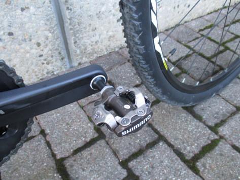 Pedale set up della gravel