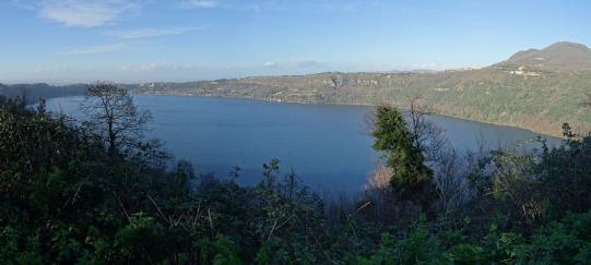 anello del lago di Albano in bici
