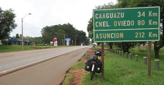Verso Asunción (Paraguay)