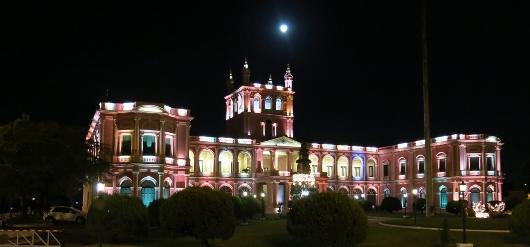 Il palazzo del Governo di Asunción (Paraguay)