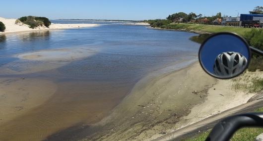 Lungo la costa atlantica in Uruguay