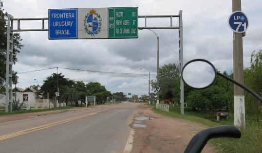 La frontiera Uruguay-Brasile