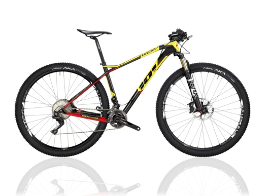 11. 101X bici da cross country superleggera (telaio 1.090 grammi)
