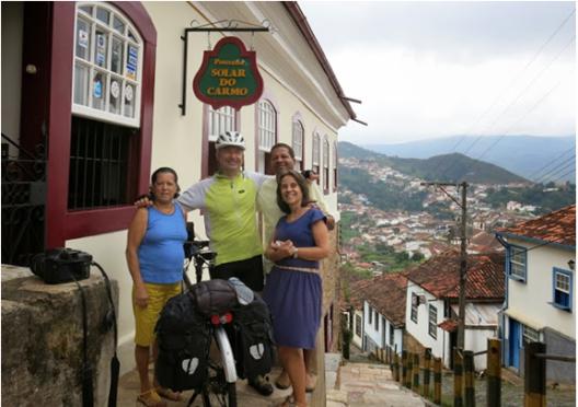 12-APR-2014: il giorno della partenza da Ouro Preto