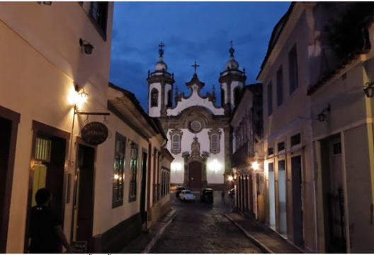 14-APR-2014: l'arrivo a São João del Rei