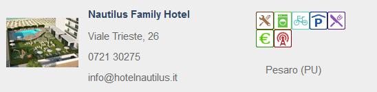 hotel nautilus urbino