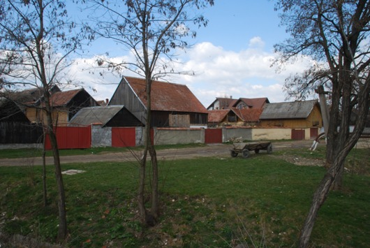 Una villaggio di campagna della Transilvania