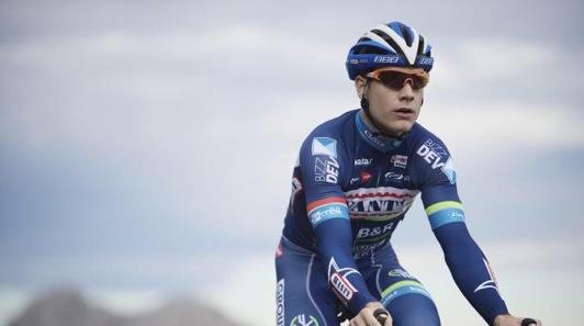 Il ciclista belga Antoine Demotié