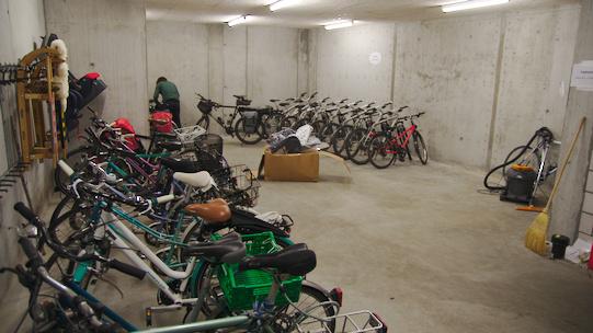 Parcheggio biciclette 5