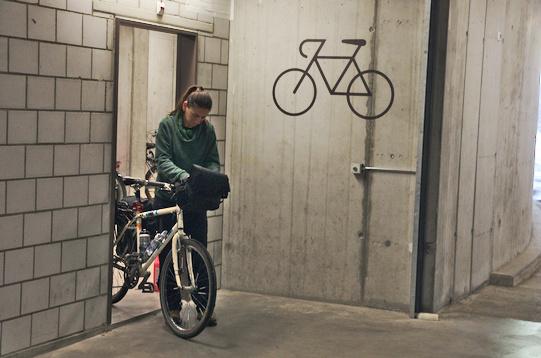 Parcheggio biciclette