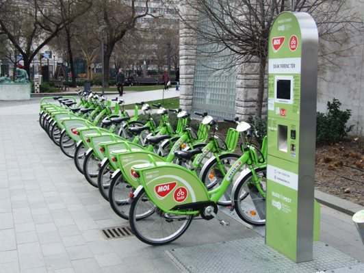 stazione bike sharing