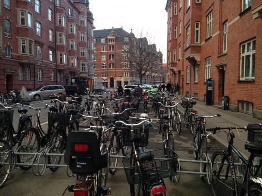 parcheccio bici Copenhagen Amaderbro