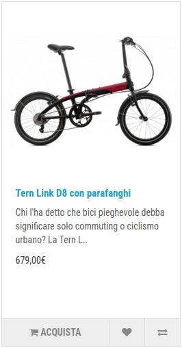 tern Link D8 con parafanghi