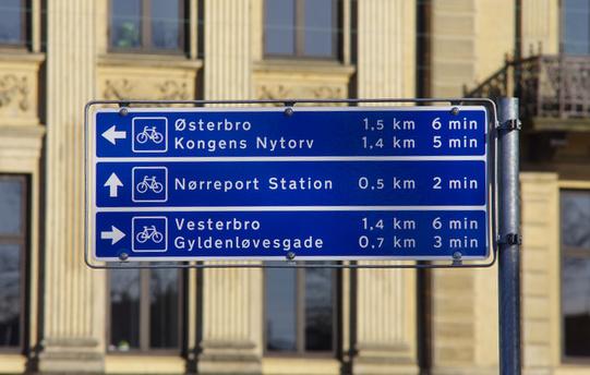 Cartelli bici Copenhagen