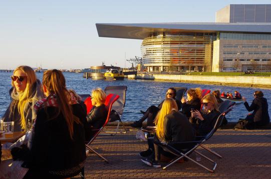 Copenhagen Bionde opera house