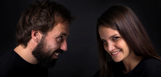 FOR A PIECE OF CAKE_Portrait_Chiara+Riccardo