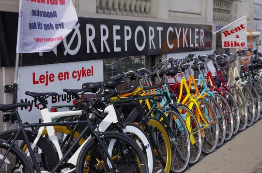 Noleggio bici copenhagen 3