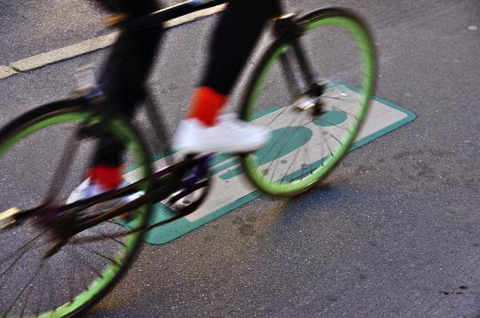 Onda Verde Bicicletta Copenhagen