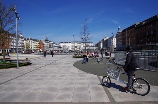 Piazza riqualificata Copenhagen