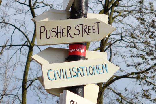 Pusher street Christiania