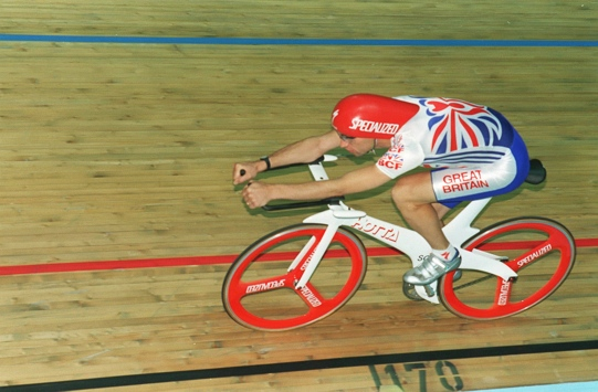GRAEME OBREE British Track Cyclist (Member of the 1996 British Olympic Cycling Team) Universal Pictorial Press Photo URM 011769/B-25 02.07.1996