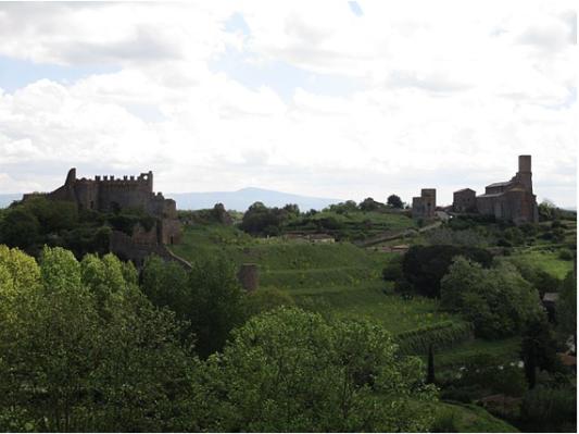 Vista da Tuscania