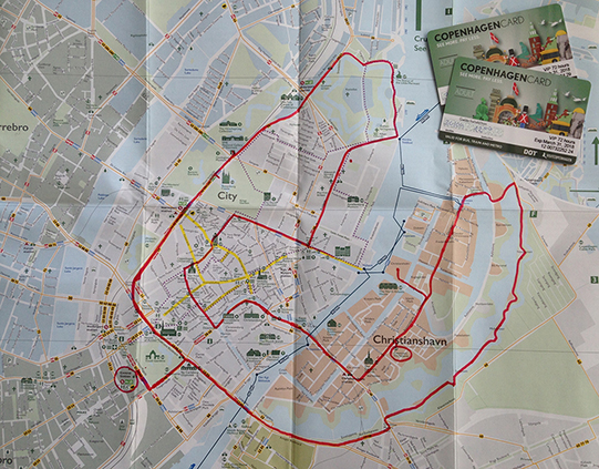 2 copenaghen city route