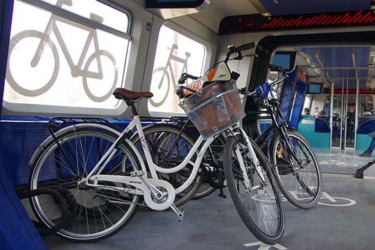 Bici sui treni a Copenaghen