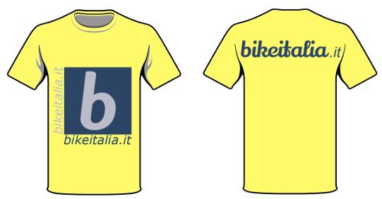 tshirt illustrazione bikeit