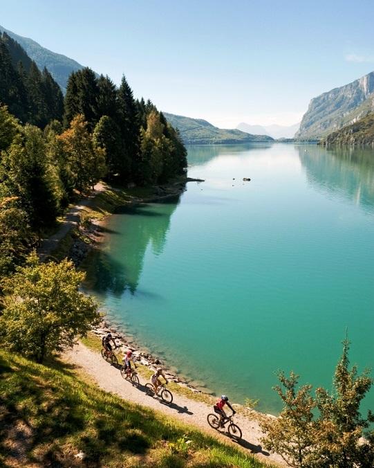 Italien, Trentino, Brenta, Lago di Molveno 09/2010
