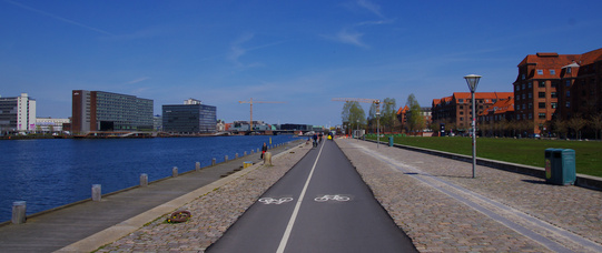 ciclabile Islands Brygge