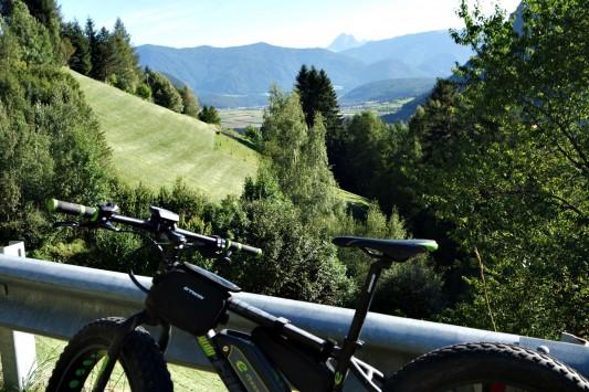 Sopra la Val di Tures in bici