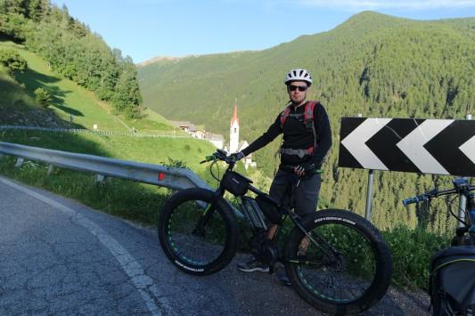 pedalando in Val di Tures