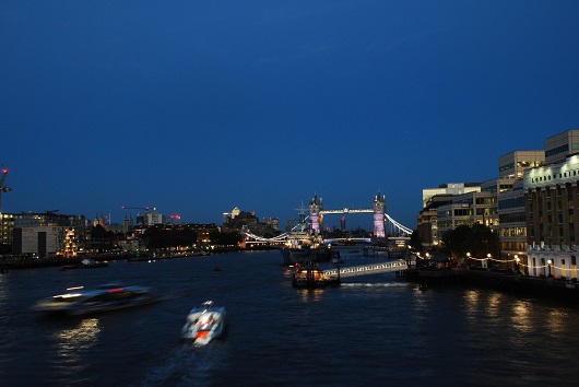 Vista sul London Bridge
