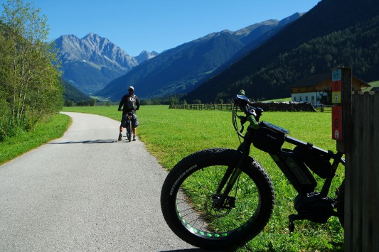 Valle di Anterselva in bici