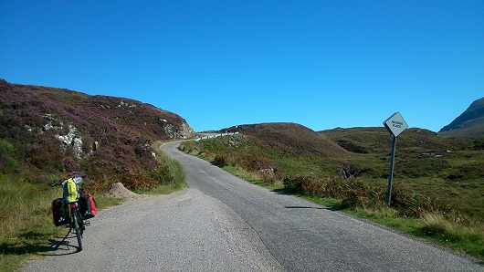 Route to Drumbeg