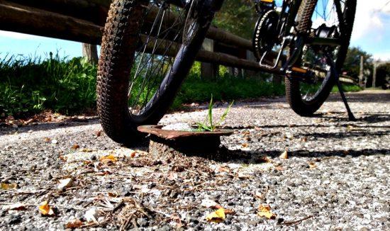 pista ciclabile acuto